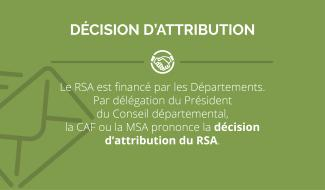 RSA décision attribution