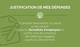 APA justification dépenses