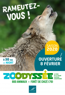 Affiche ouverture Zoodyssee